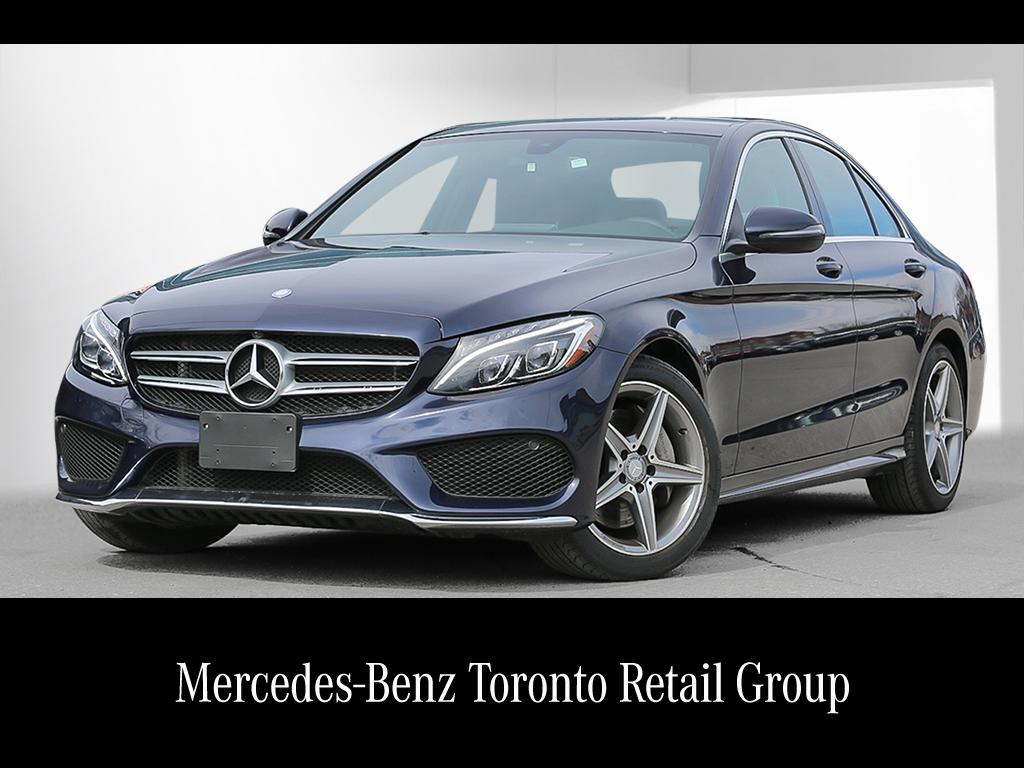 Certified pre owned 2016 mercedes benz c class c300 4 door for Mercedes benz certified pre owned canada