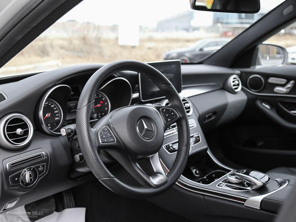 motion reviews en trend front benz three cars and in quarter mercedes c class rating canada motor