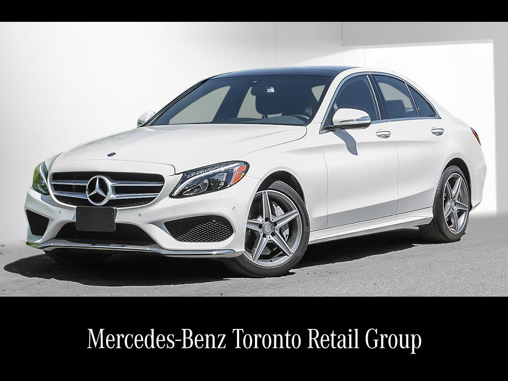 Certified pre owned 2015 mercedes benz c class c400 4 door for Mercedes benz certified pre owned canada
