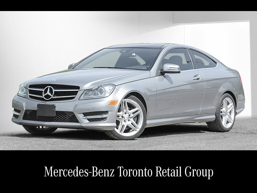 certified pre-owned 2015 mercedes-benz c-class c350 2-door coupe