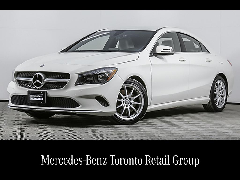 certified pre-owned mercedes-benz cla | 2017 cla250 coupe