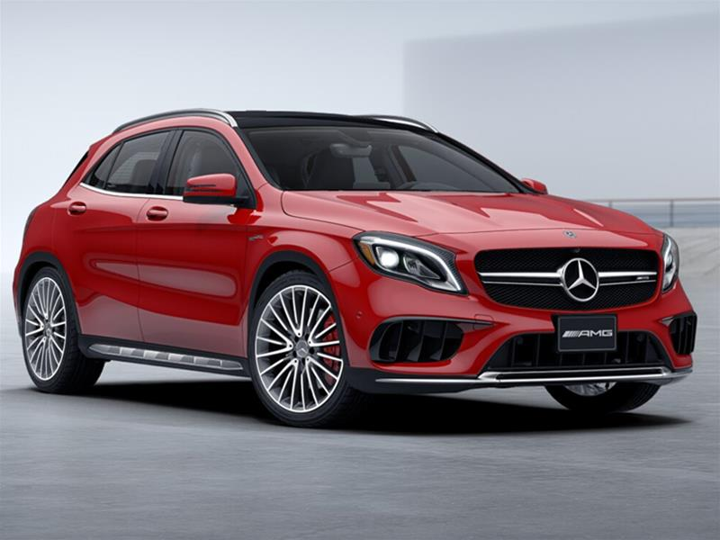 New 2018 Mercedes Benz Gla Gla45 Amg